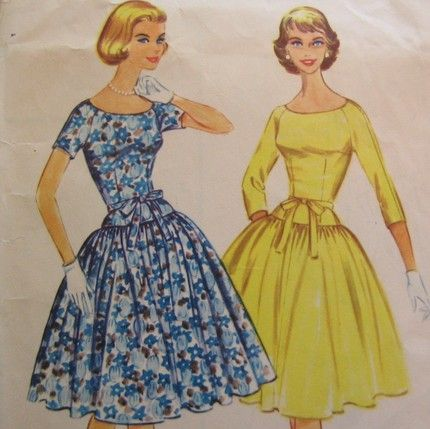 Dress style in 1960s