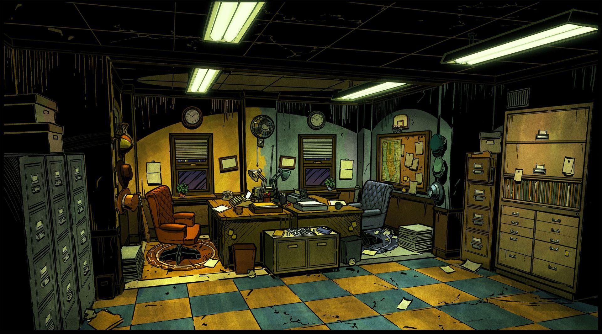 Artstation The Wolf Among Us Concept Art Gray Rogers The Wolf Among Us Concept Art Art