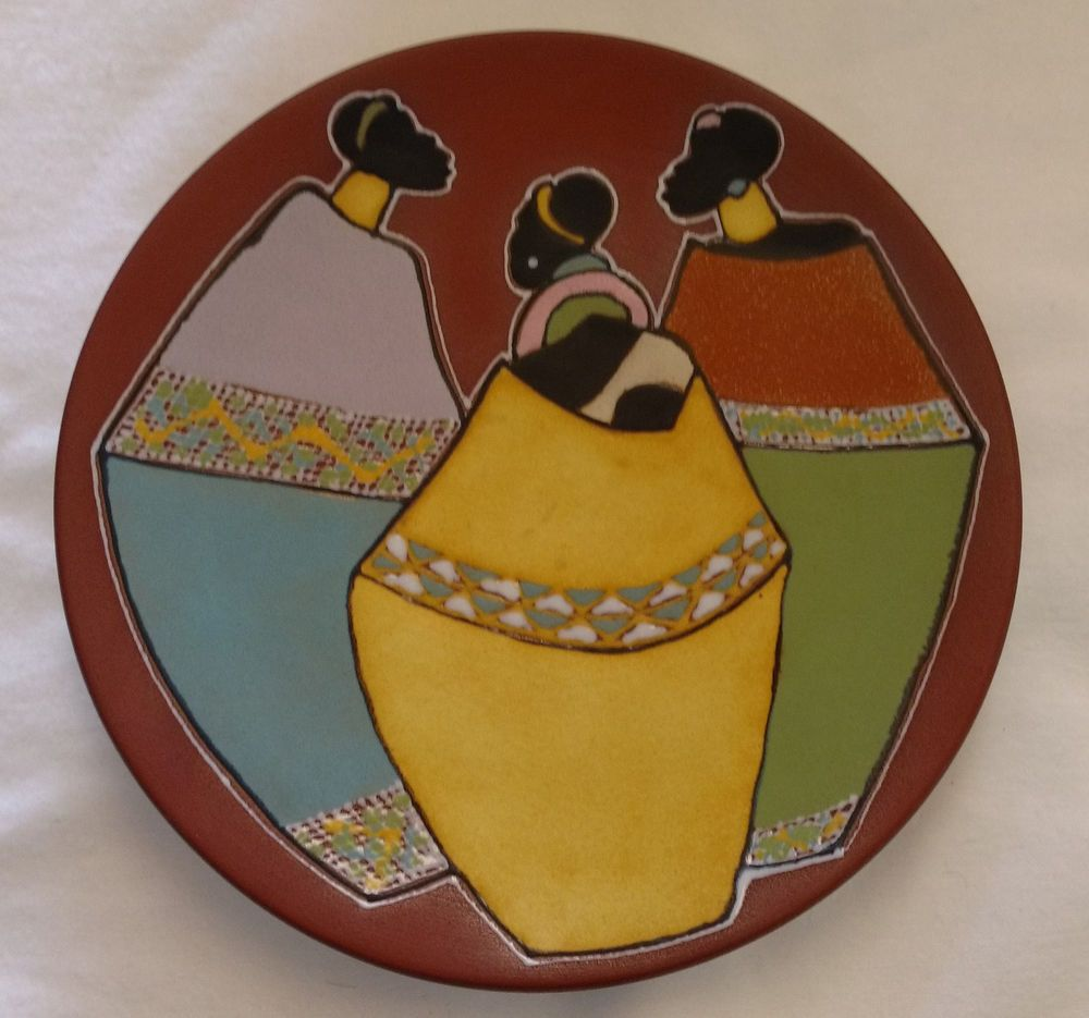 Kalahari Decorative Plate to Hang 8\