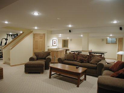 basement renovation ideas |  your furniture selection matters