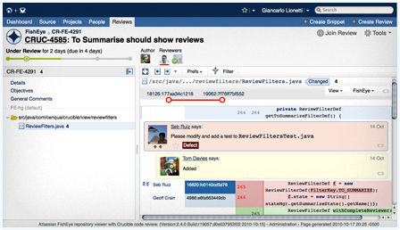 Crucible: Collaborative Peer Code Review across your Git