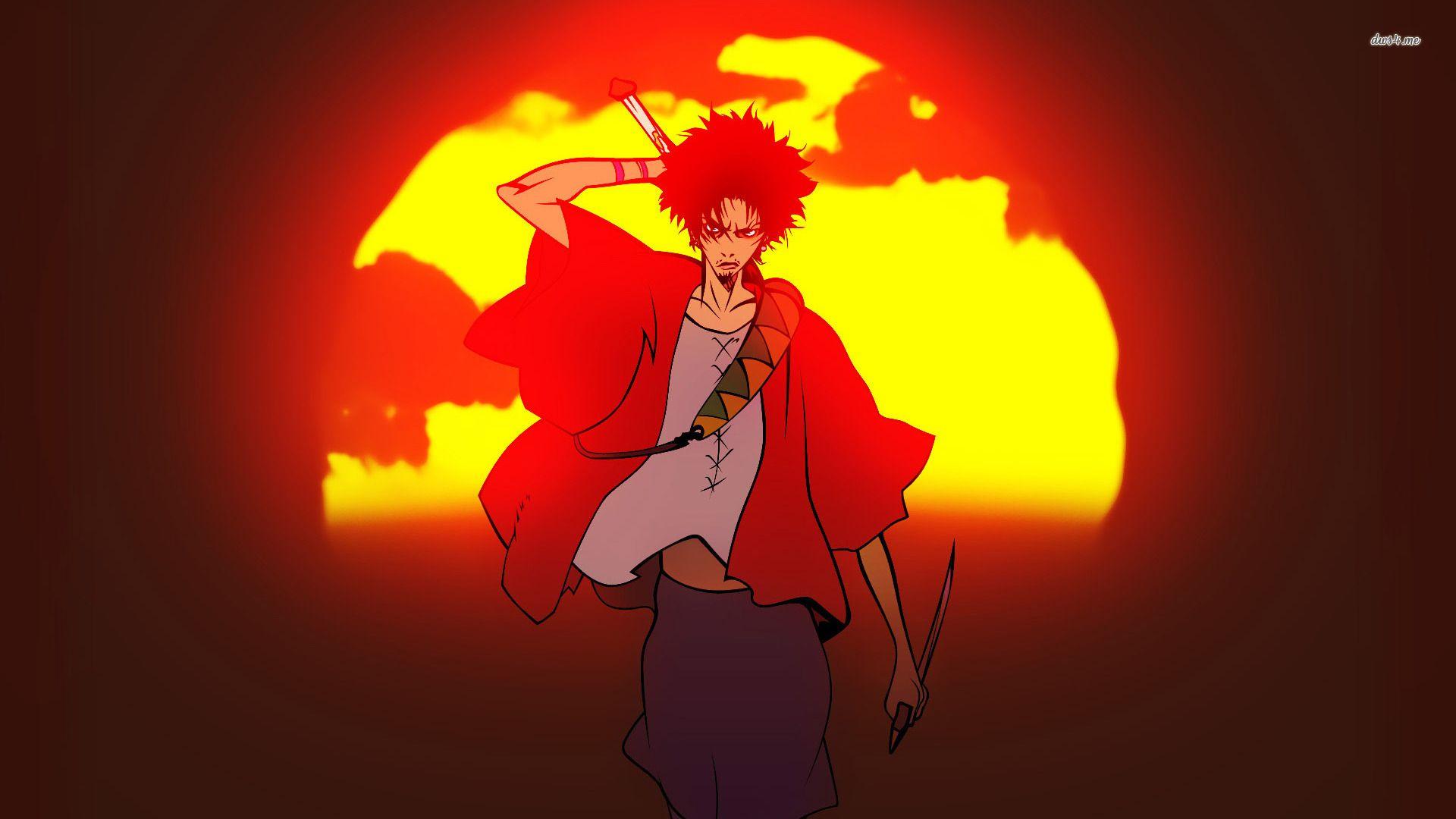 126fa40952ed Mugen Samurai Champloo | AniMania! | Samurai champloo, Samurai, Anime