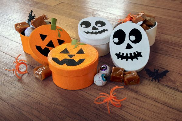 DIY candy boxes. Michaels sell the plain unpainted boxes. You can ...