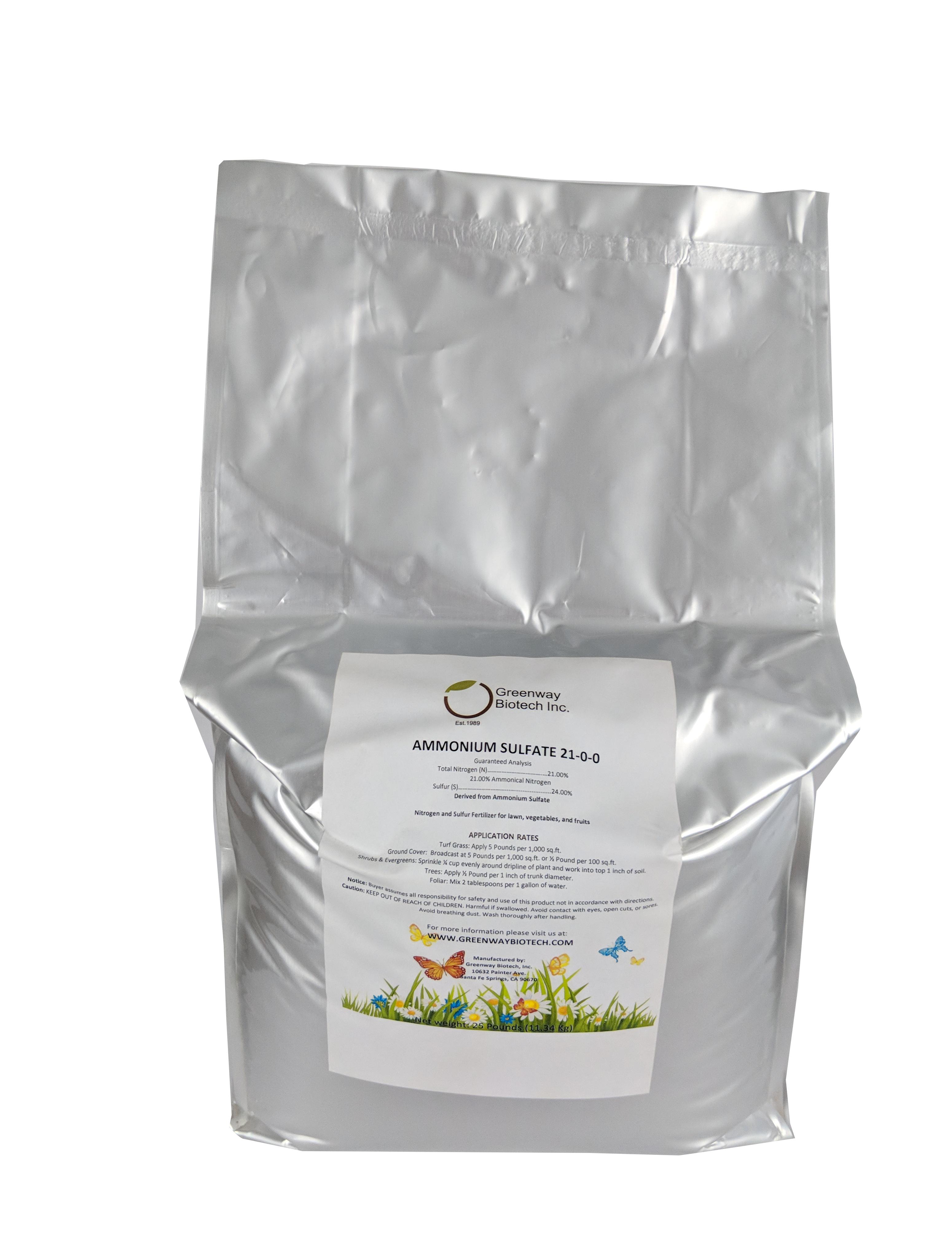 Ammonium sulfate products