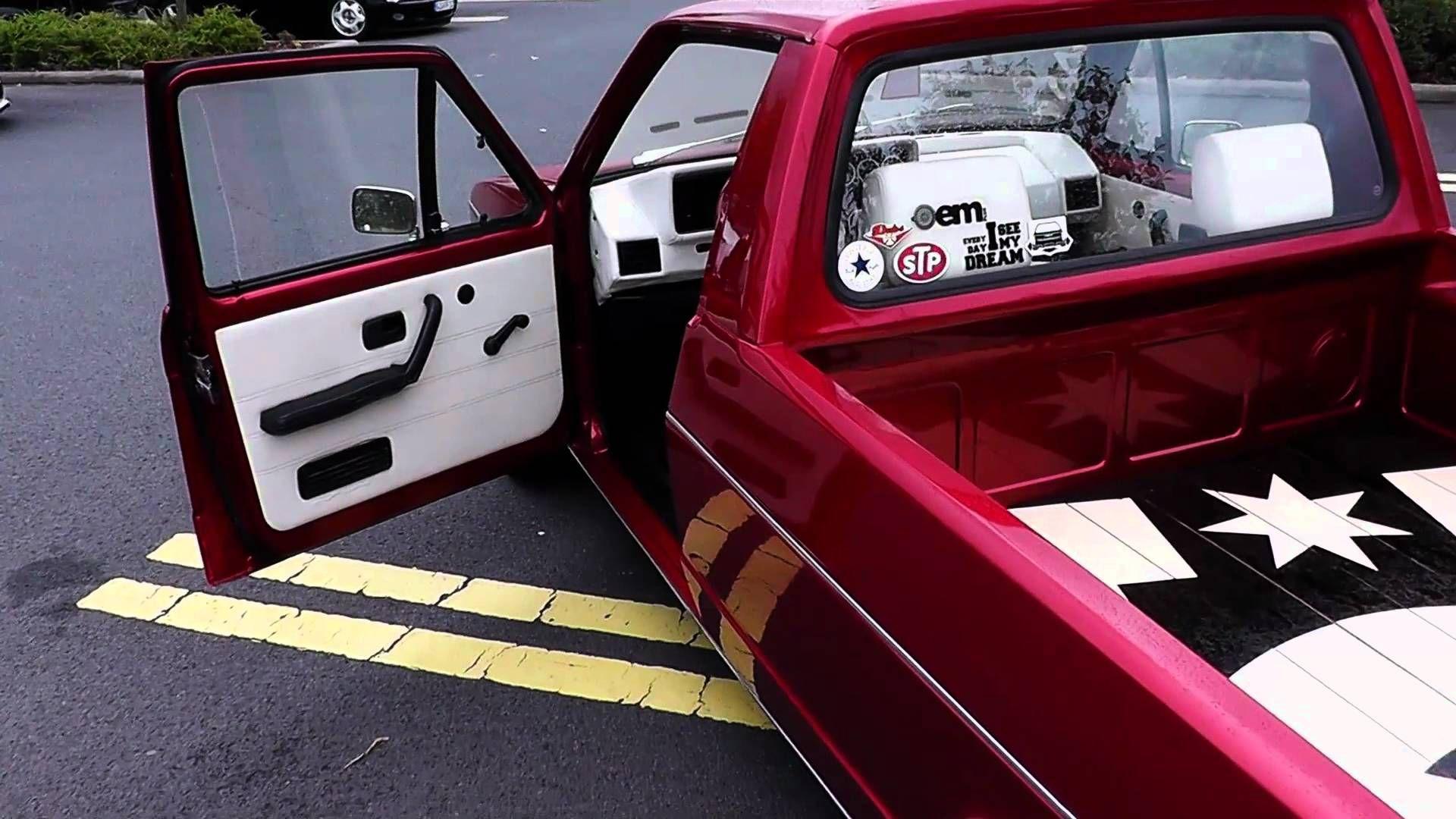 VW Caddy Mk1  bagged Golf Mk4  Slammed VWs  Pinterest  Mk1