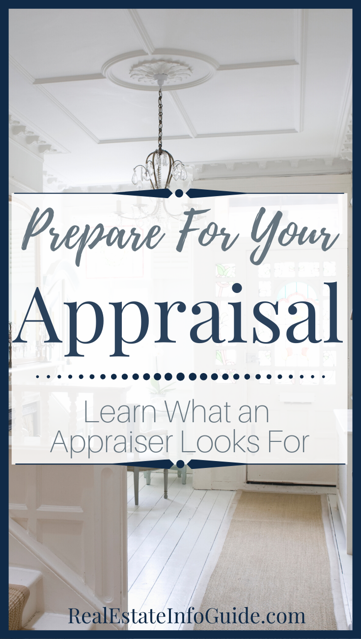 Whether you are a home seller or home buyer, you will have to deal with a home appraisal. So what does an appraiser actually look for? Click the link to learn what they inspect, as well as, how to get your home ready for an appraisal. For more real estate advice and home buyer tips, check out our other real estate articles.   #REIG #HomeSellerTips #SellMyHome #HomeBuyer #BuyingaHome #SellingAHome #RealEstate #FirstTimeHomeBuyer