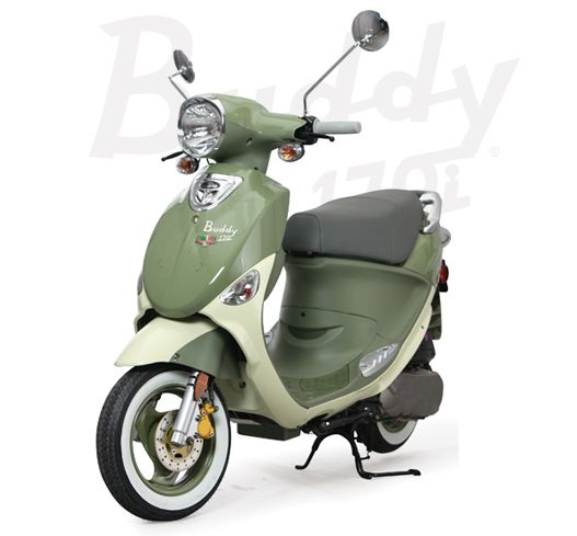 The Genuine Scooter Company :: Buddy 170 Fuel Injected, 170i