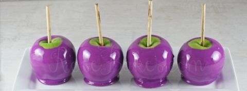 Purple Candy Apples Timeline Photo