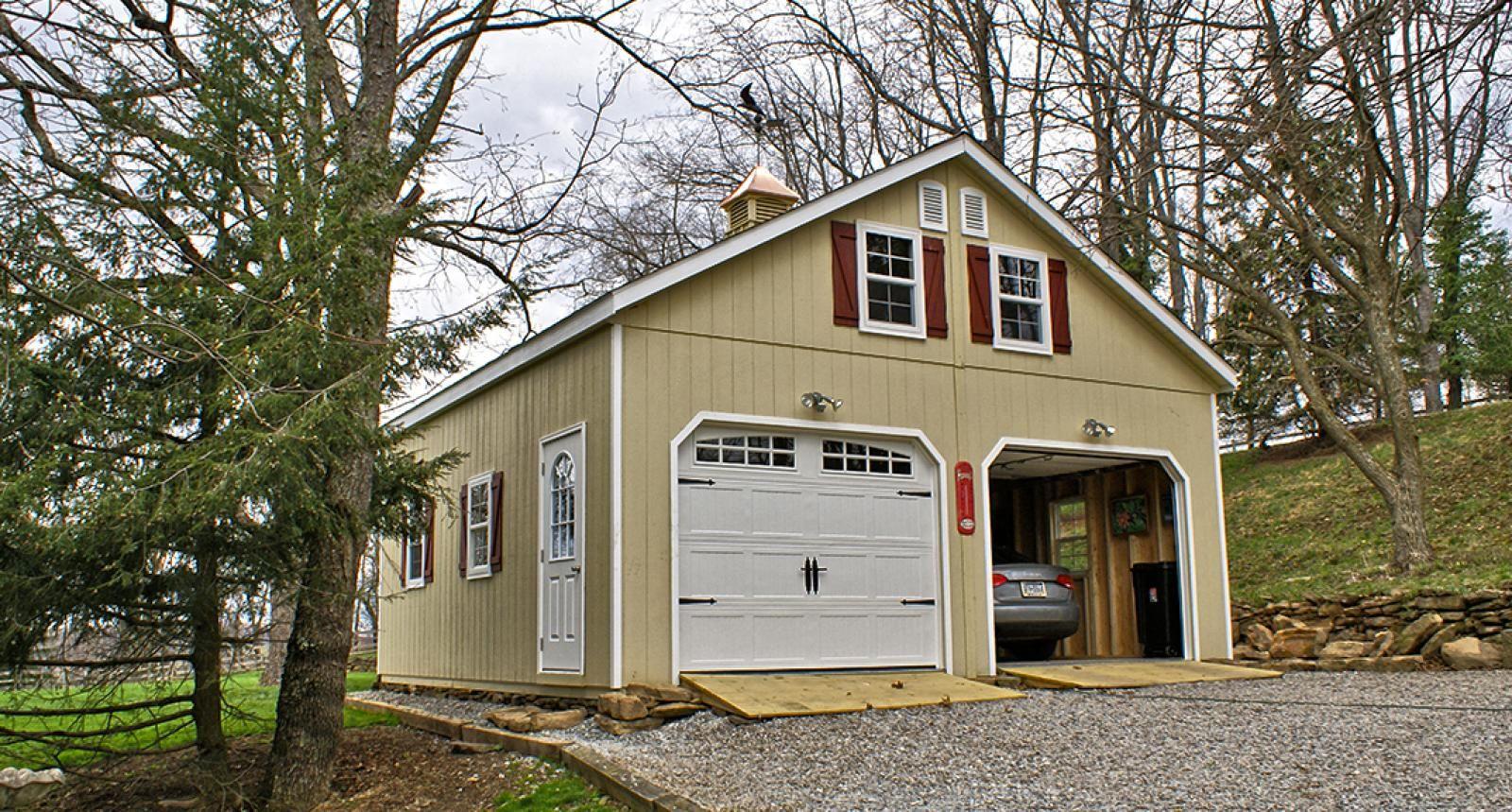 2 Story Prefab Garage Prefab Garages Garage Kits Prefab