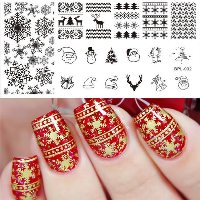 Born Pretty 1 Pc Rectangle Nail Stamping Plate Nail Art Stamping