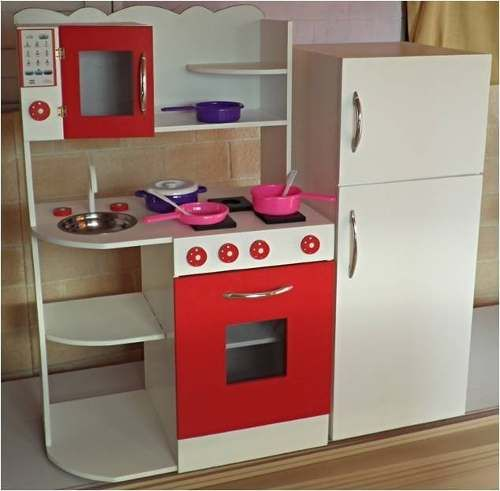 Muebles infantiles rincon casita infantil cocina de - Cocina de juguete ...