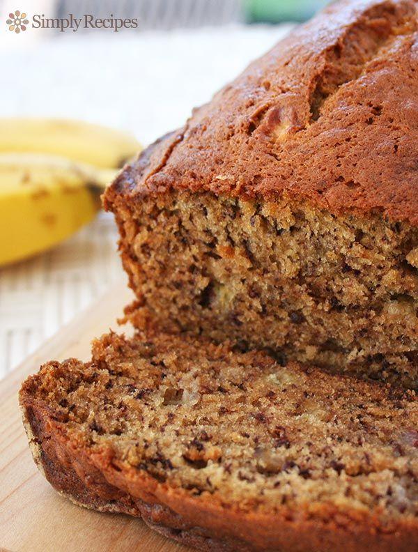 Easy Banana Bread Recipe Best Banana Bread Easy Banana Bread Whole Wheat Banana Bread