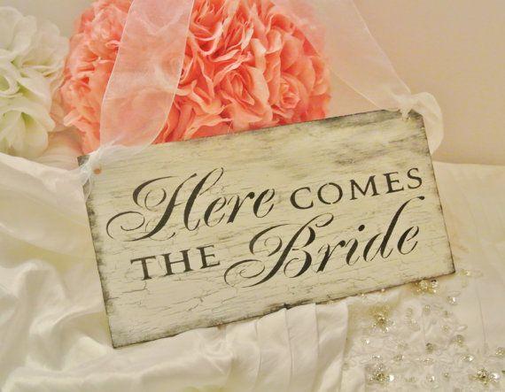 VINTAGE WEDDING/Here Come The Bride by FairytaleDecorDesign