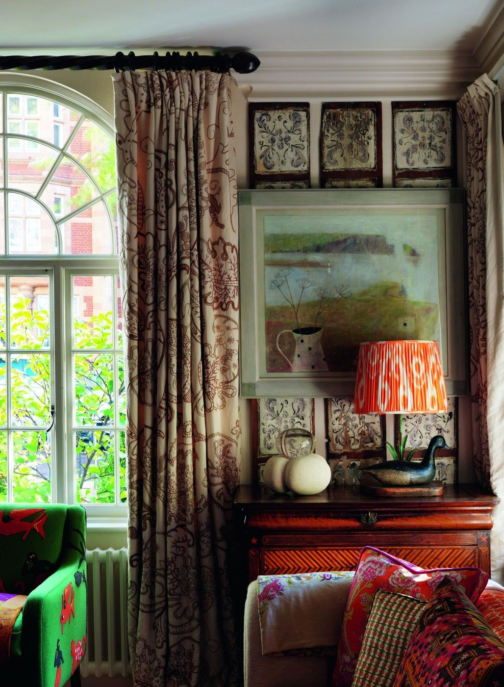 Tiles Design For Living Room Wall: Eclectic Wall Decor, Decor
