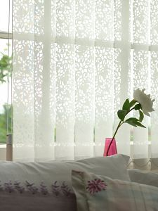 Lacy Vertical Blinds From New House Textiles Curtains Curtain