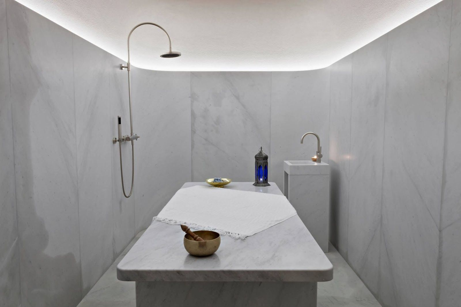 Carrara marble bathroom image the cafe royal hotel regent street - Simplicity Love Akasha Holistic Wellbeing Centre Cafe Royal London David Chipperfield Architects D David Chipperfield Pinterest Wellbeing Centre