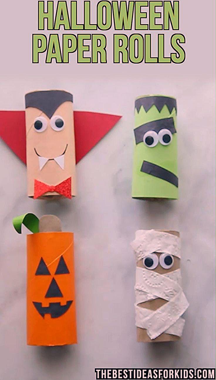 Photo of Halloween-Toilettenpapierrollenhandwerk – Diy and Crafts