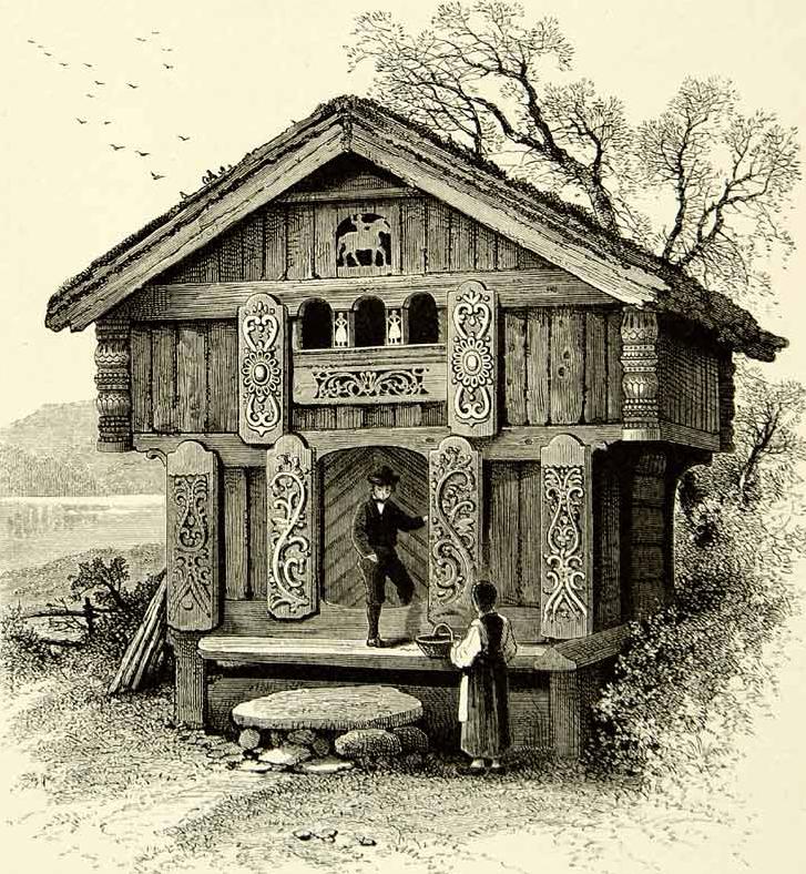 Myarchnemesis Com Norwegian House Scandinavian Cottage Norway Viking