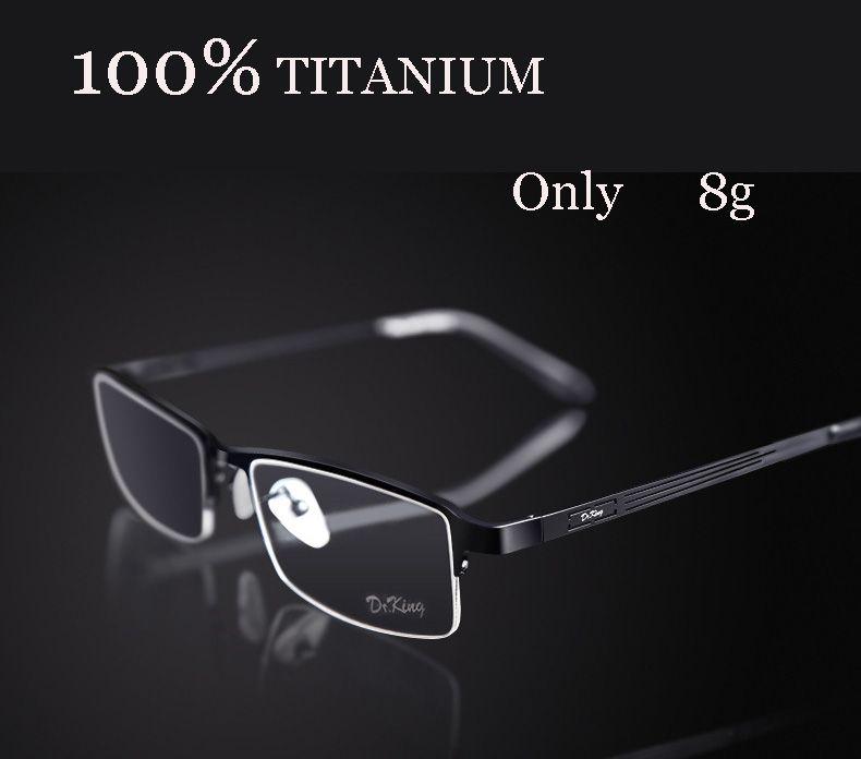 Titanium eyeglasses marcos de lentes opticos fashion brand designer ...
