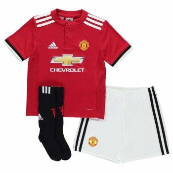 Manchester United kläder Barn 17-18 Hemmatröja Kortärmad  Billiga   fotbollströjor fcd18a6cb7daf