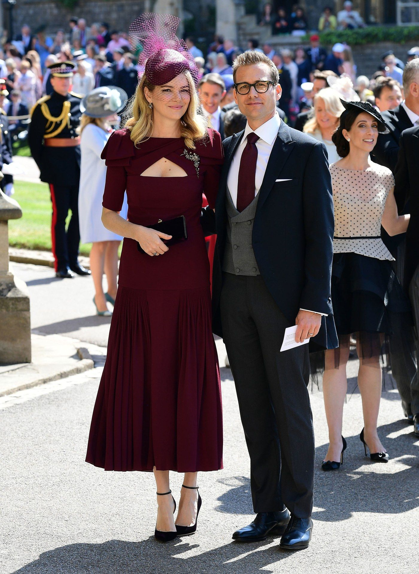 9a880dff3 Pin by Charissa Bahre on The Wedding of Harry and Meghan | Royal wedding  guests outfits, Harry wedding, Prince harry wedding