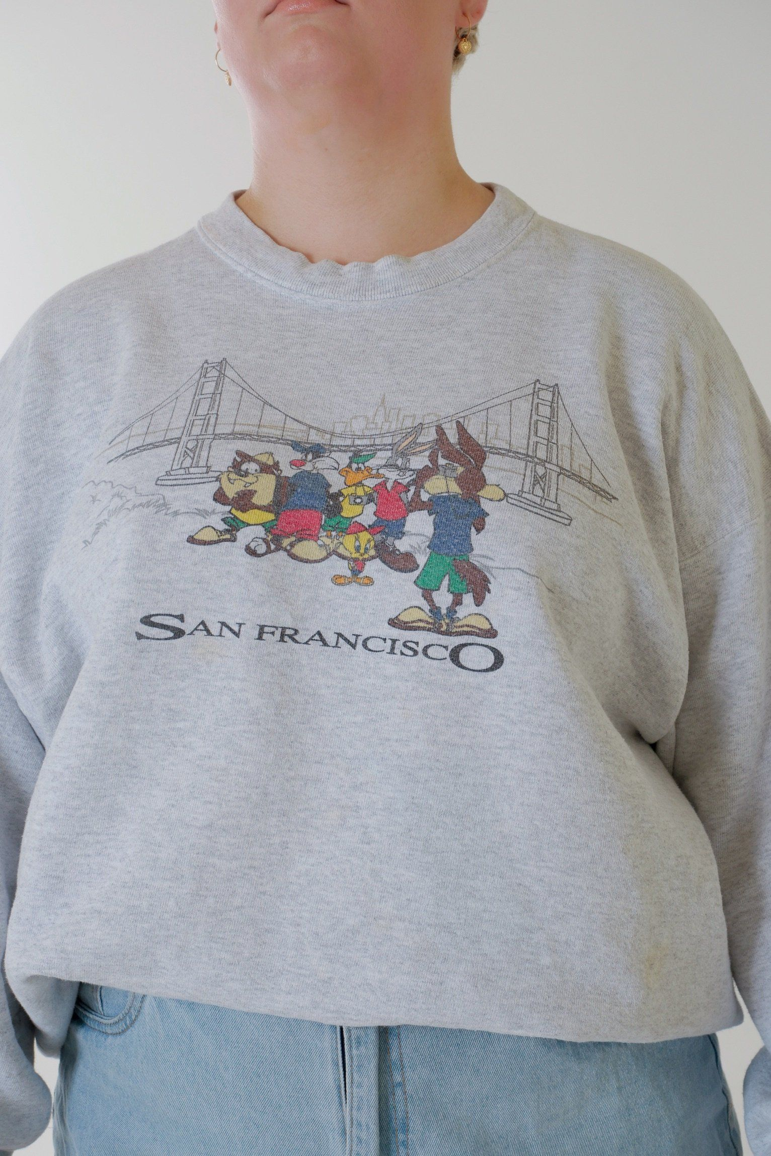 Warner Bros Cartoon San Fransisco Sweater