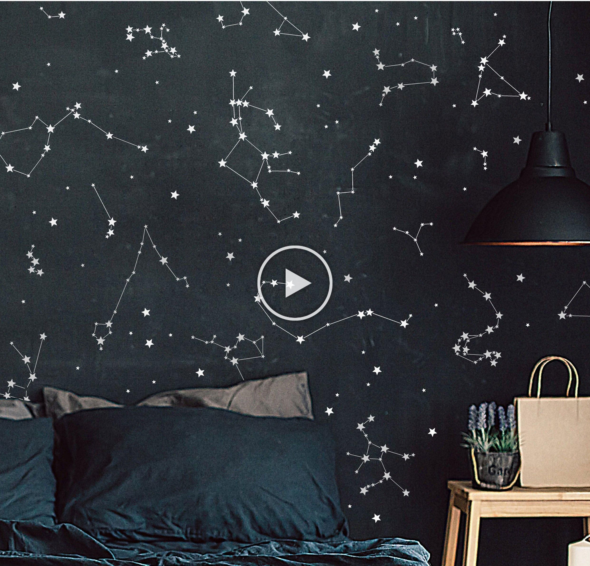 Constellation Stickers Constellation Decals Astronomy Wall Art