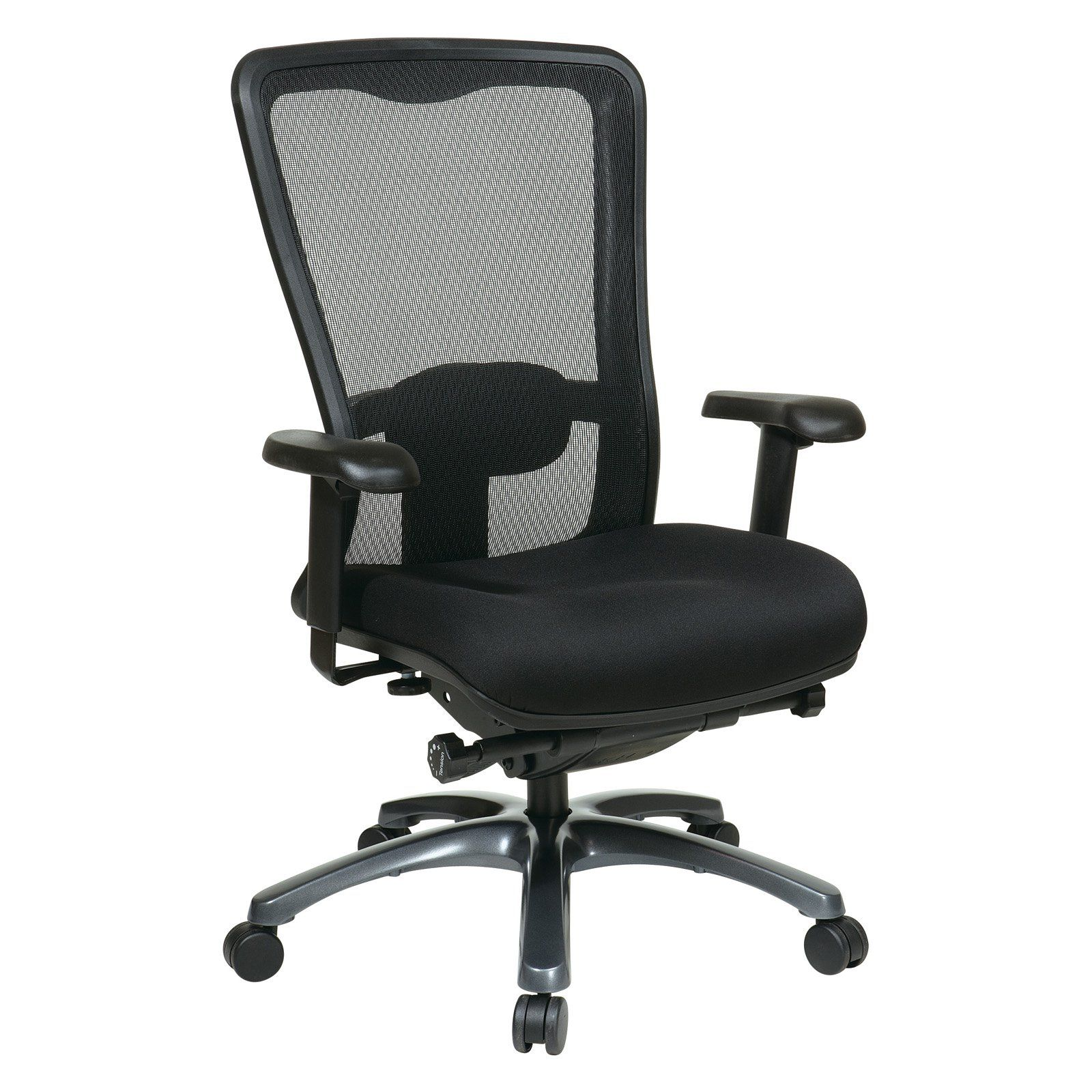 Office Star ProGrid High Back Chair Coal (With images