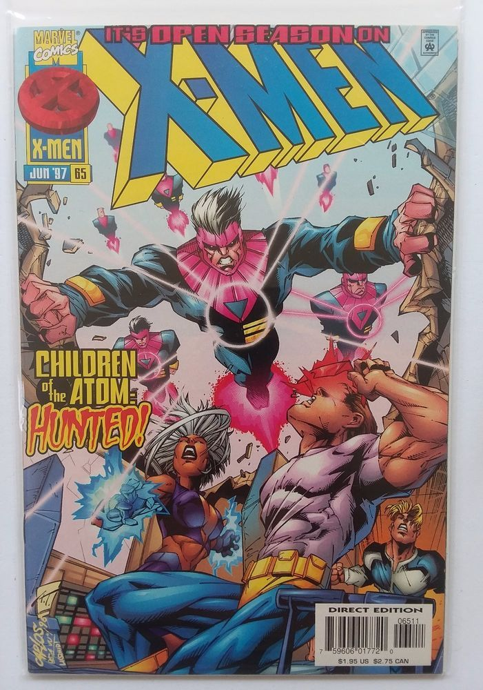 X Men 65 Zero Tolerance Marvel Comics 1997 Vol 1 Series Collectibles Comics Modern Age 1992 Now Ebay Comics X Men Marvel Comics Covers