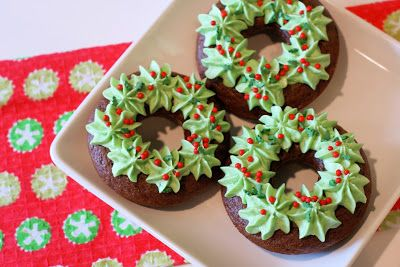 Delicious Gluten Free Donuts For Christmas Onecreativemommy Com Gluten Free Desserts Holiday Christmas Donuts Christmas Food
