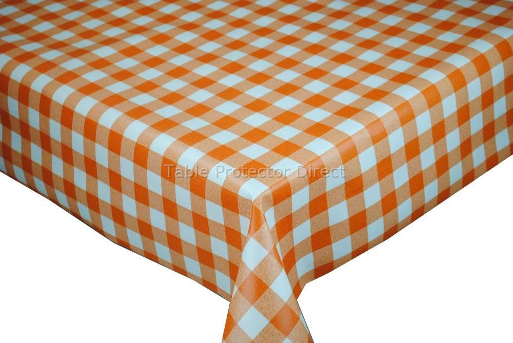 PLAIN WHITE PVC Vinyl Wipe Clean Oilcloth Tablecloth