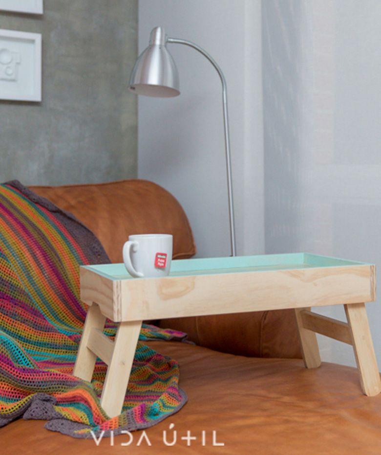 Mesa de desayuno hecho en triplex de pino desayuno en la cama cop env o gratis - Mesas de desayuno ...