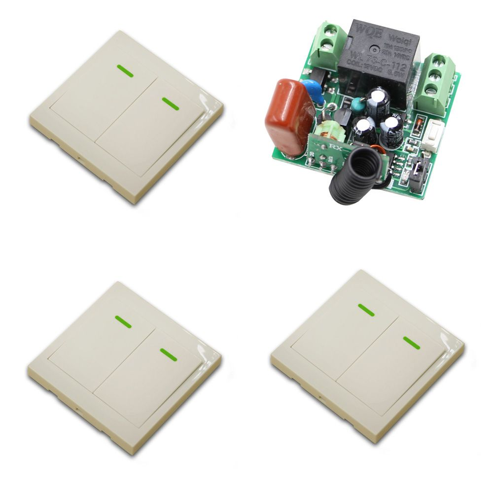 315mhz Ac 220v 1ch Remote Control Switch Radio Light Switch 1 Channel 10a Wireless Relay Receiver Transmitter Fixed C Remote Control Wall Paneling Light Switch