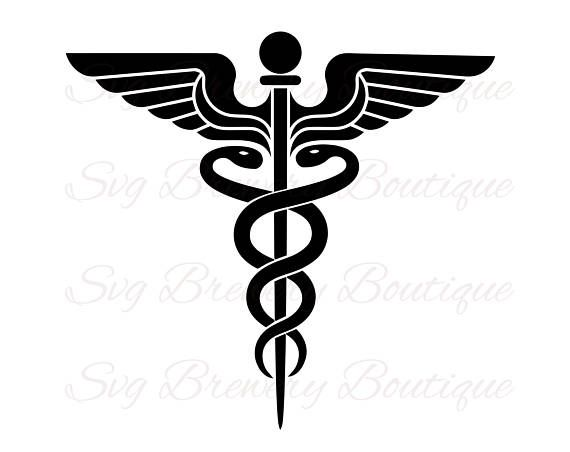 caduceus medical nurse svg png dxf for cricut silhouette rh pinterest com au caduceus logo vector caduceus login