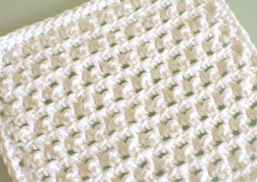Crochet Spot » Blog Archive » Free Crochet Pattern: Spa Washcloth ...