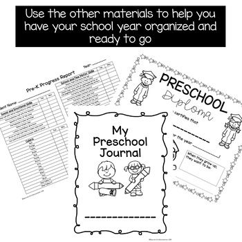2 YEAR Preschool Pre-K Curriculum Maps (Ages 3-5