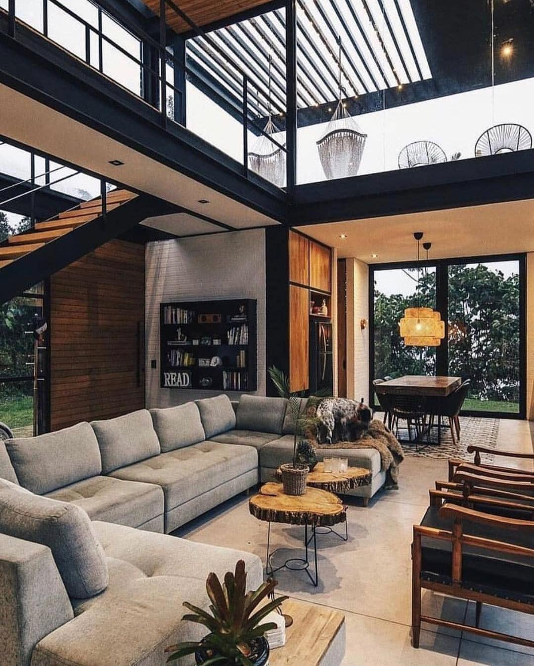 loft living room ideas upstairs  Loft interior design, Loft