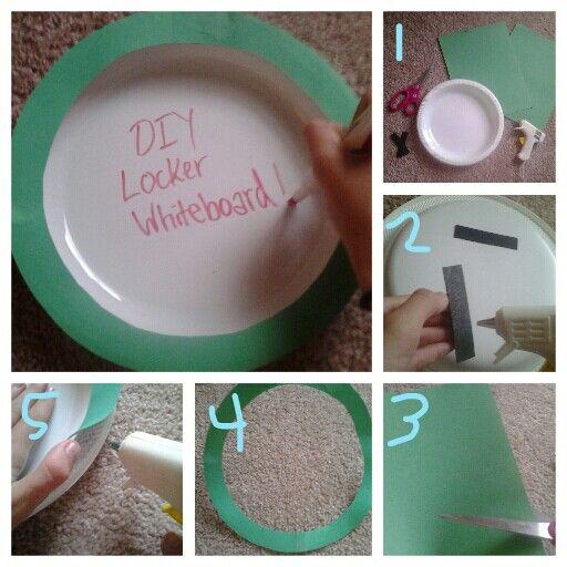 Diy Locker Whiteboard Adales Locker Ideas Pinterest
