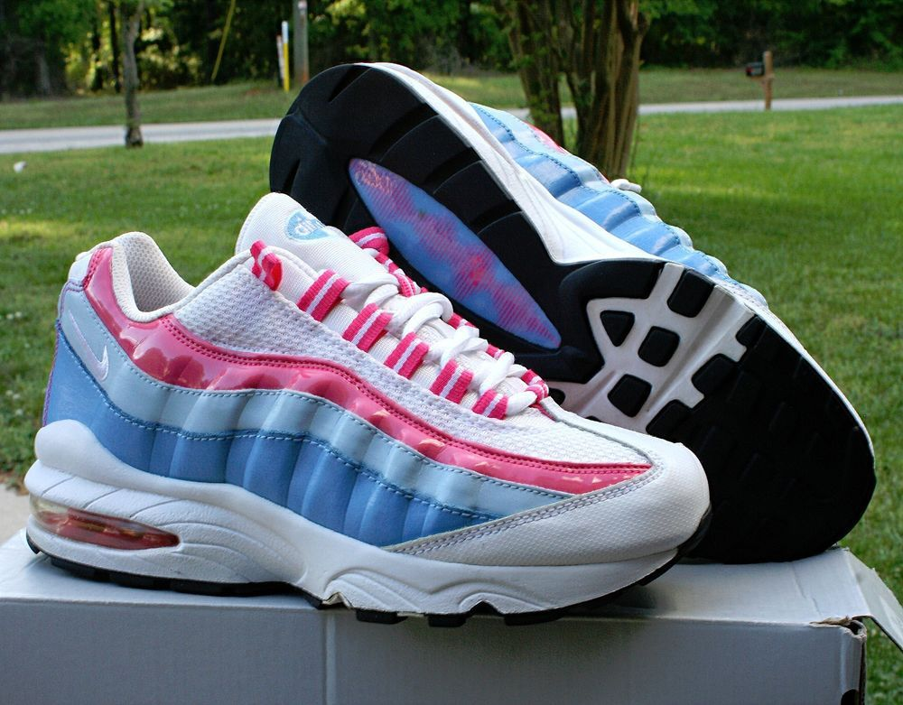 Nike Air Max 95 Girl's Running Shoes Size White Spark Coast SKU: in  Clothing, Shoes & Accessories, Kids' Clothing, Shoes & Accs, Girls' Shoes