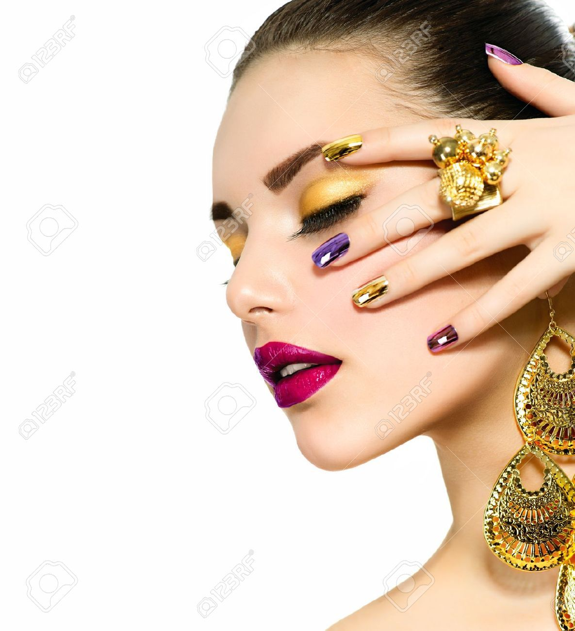 Fashion-Beauty-Manicure-and-Make-up-Nail- | NAILS !!! Fine and ...