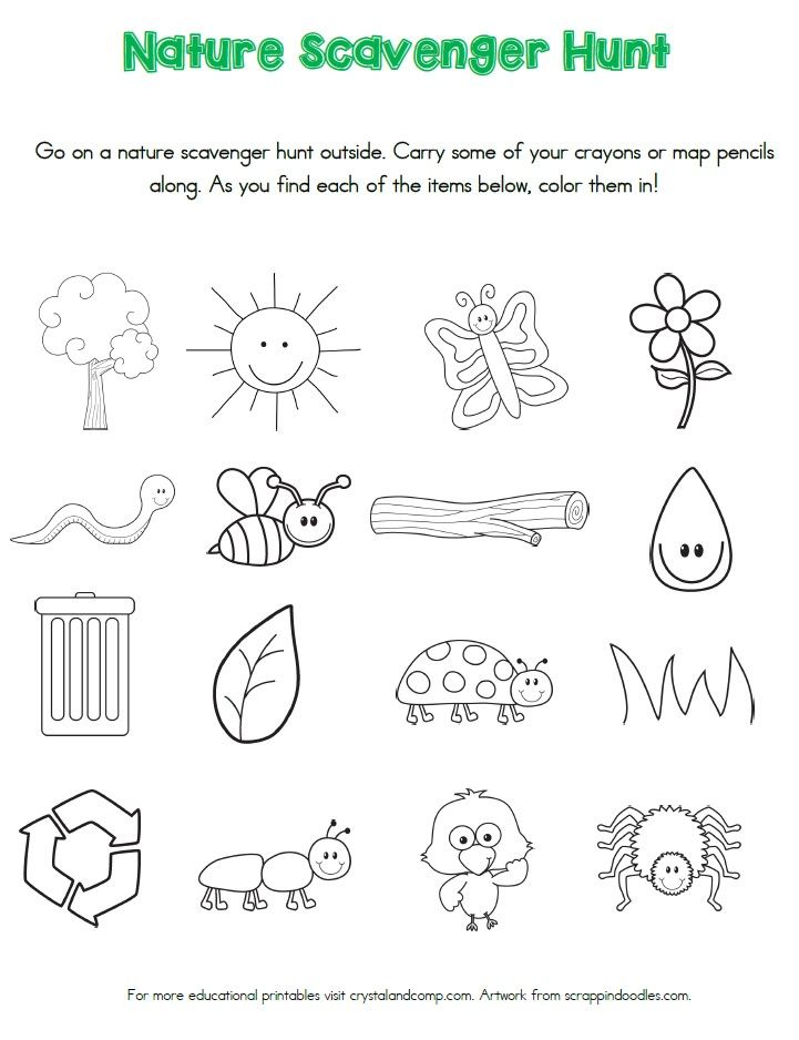 nature scavenger hunt printables for kids nature scavenger hunts activities and nature hunt. Black Bedroom Furniture Sets. Home Design Ideas