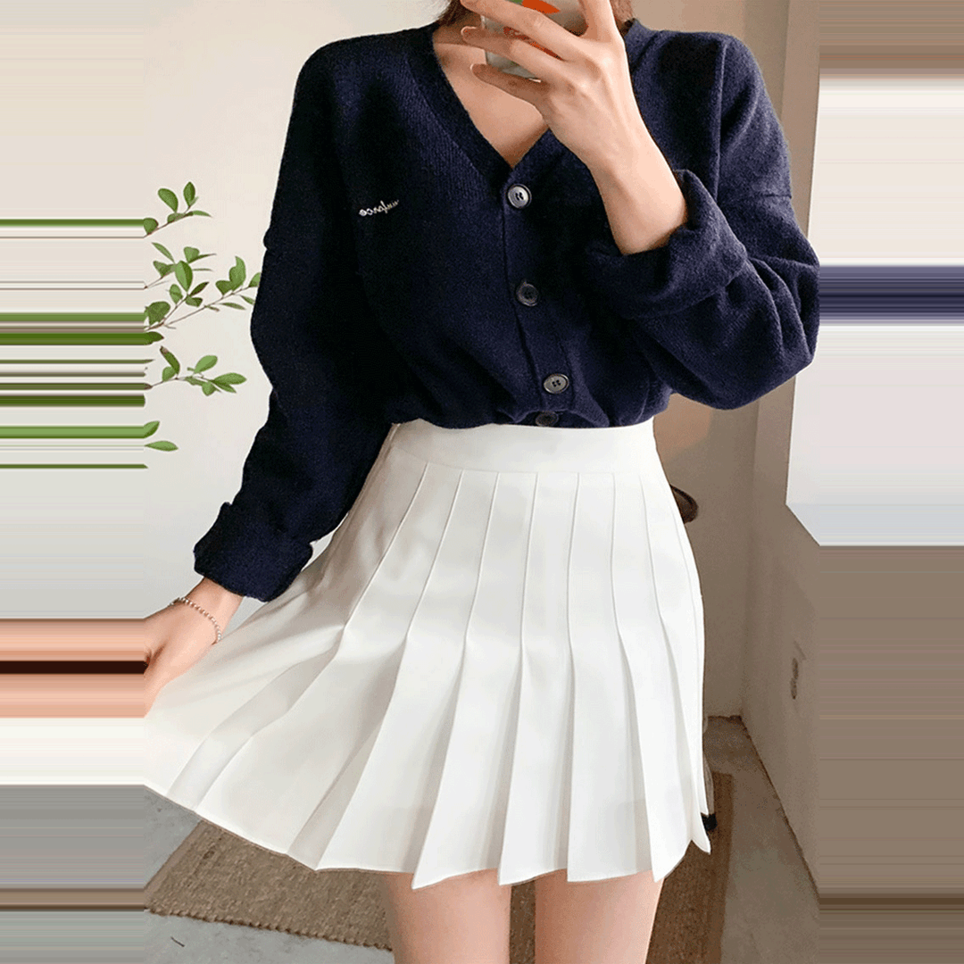 Chuu Lovely Tennis Culottes Pants In 2020 Tennis Skirt Outfit Korean Skirt Outfits White Tennis Skirt