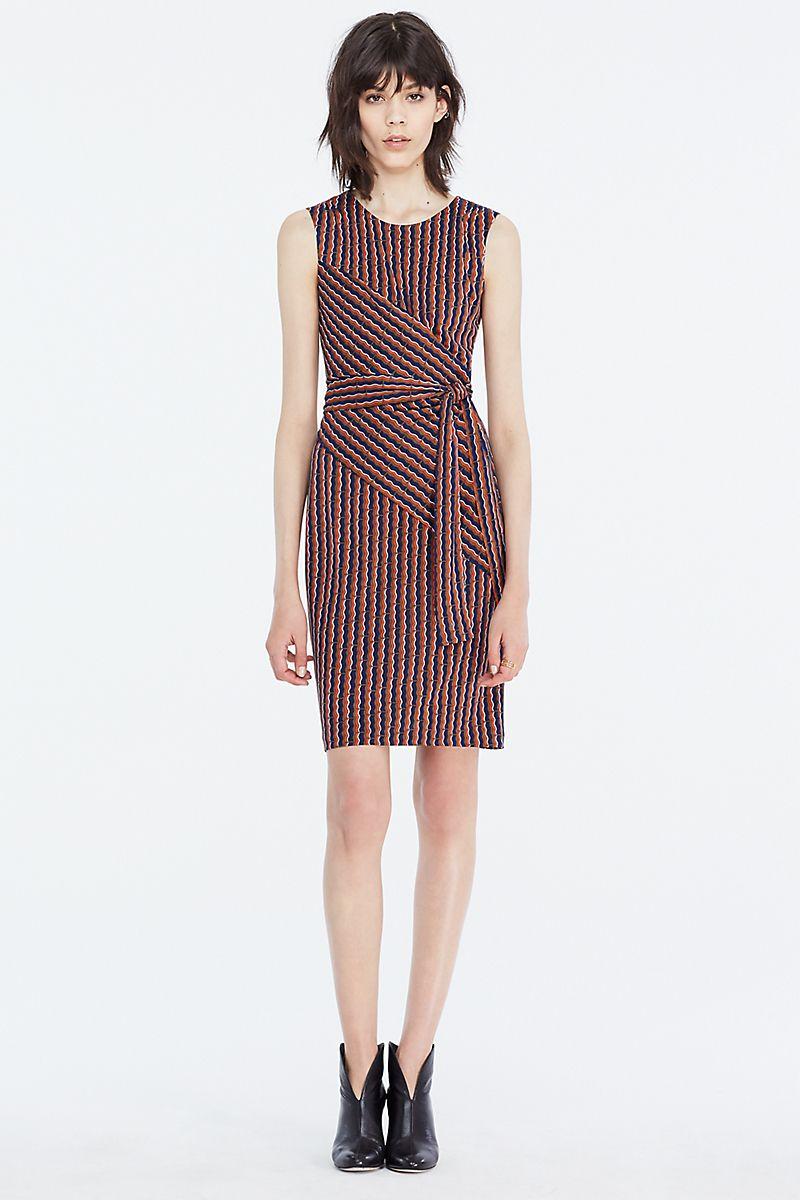 Dvf Ashlie Sleeveless Faux Wrap Dress Dresses Diane Von Furstenberg Wrap Dress Iconic Dresses [ 1200 x 800 Pixel ]