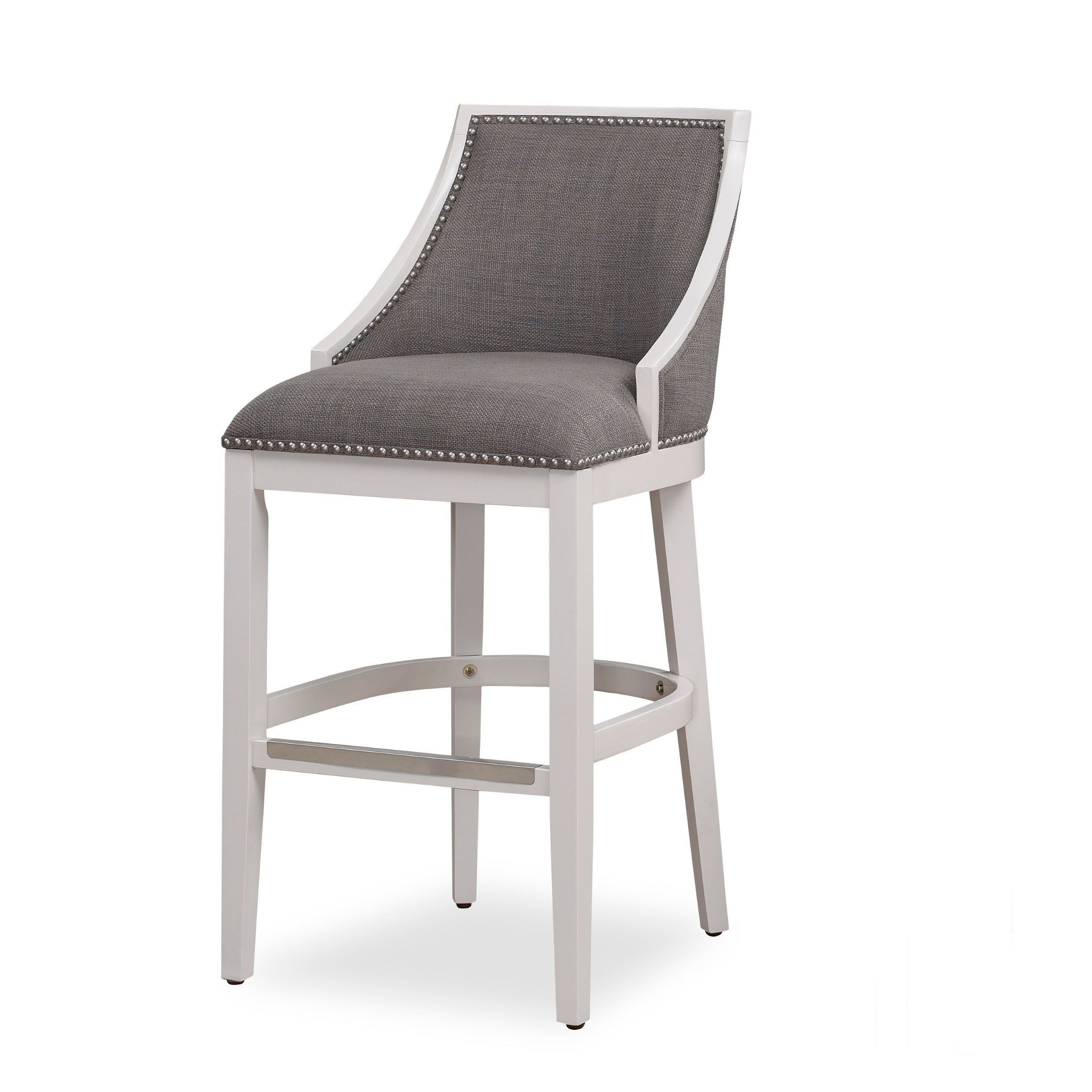Fine Lawrence White Counter Height Stool By Greyson Living Beige Onthecornerstone Fun Painted Chair Ideas Images Onthecornerstoneorg