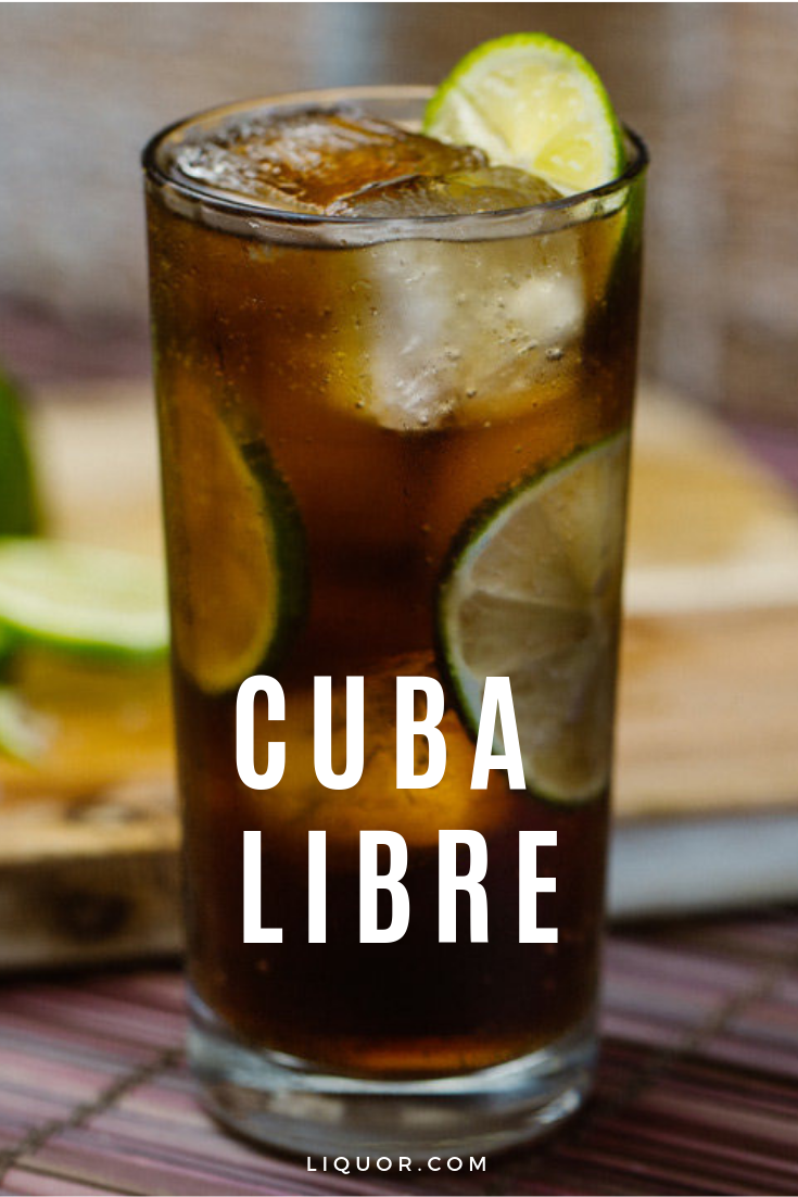 The Cuba Libre is essentially a rum and coke with a lime. This simple to make classic cocktail is a bubbly and sweet favorite for any happy hour. #cocktailrecipes #cubalibre