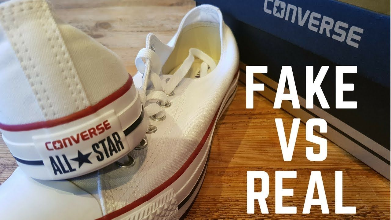 REAL VS FAKE Off White x Converse YouTube