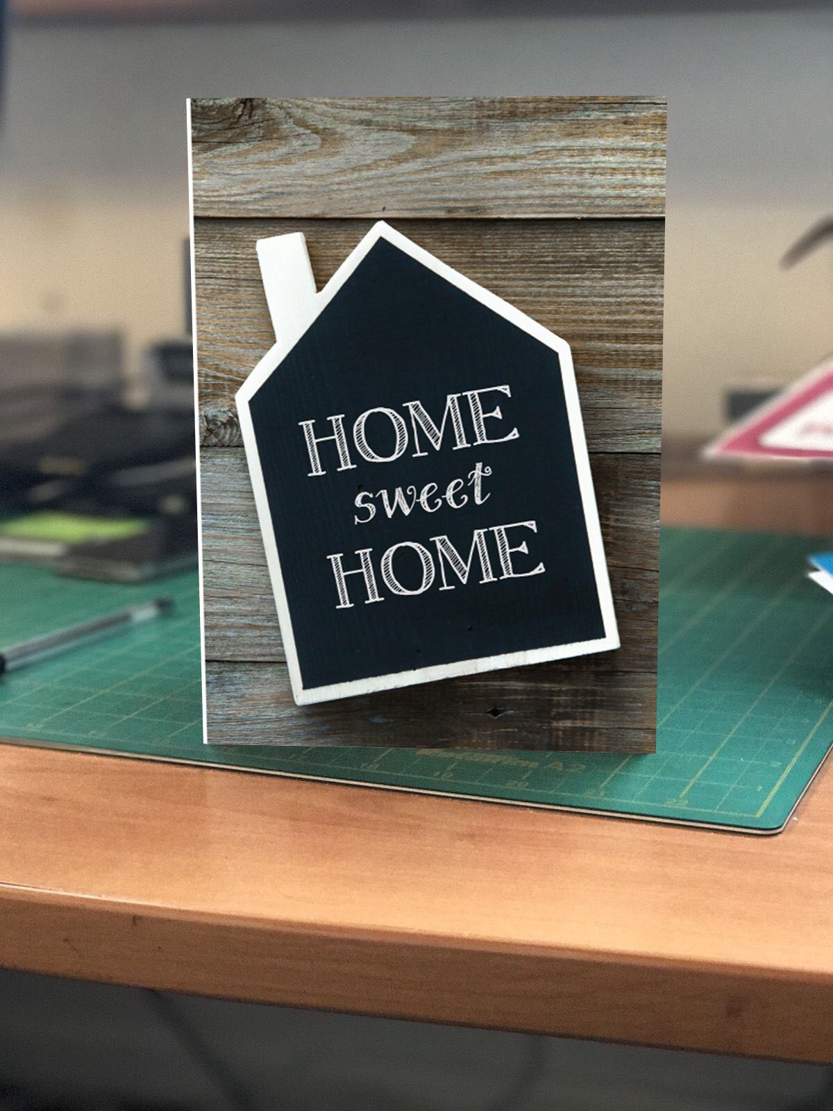 Home Sweet Home greetings card! Congratulations on your new home is part of New home Greetings - Home Sweet home greetings card A6 size card and white c6 envelope  Inside card  Congratulations on your new home  Printed to order on 300gsm card Colours may vary from those on screen due to different monitor setups  A6 Card dimensions 105x148mm when folded Envelope dimensions 110x155mm
