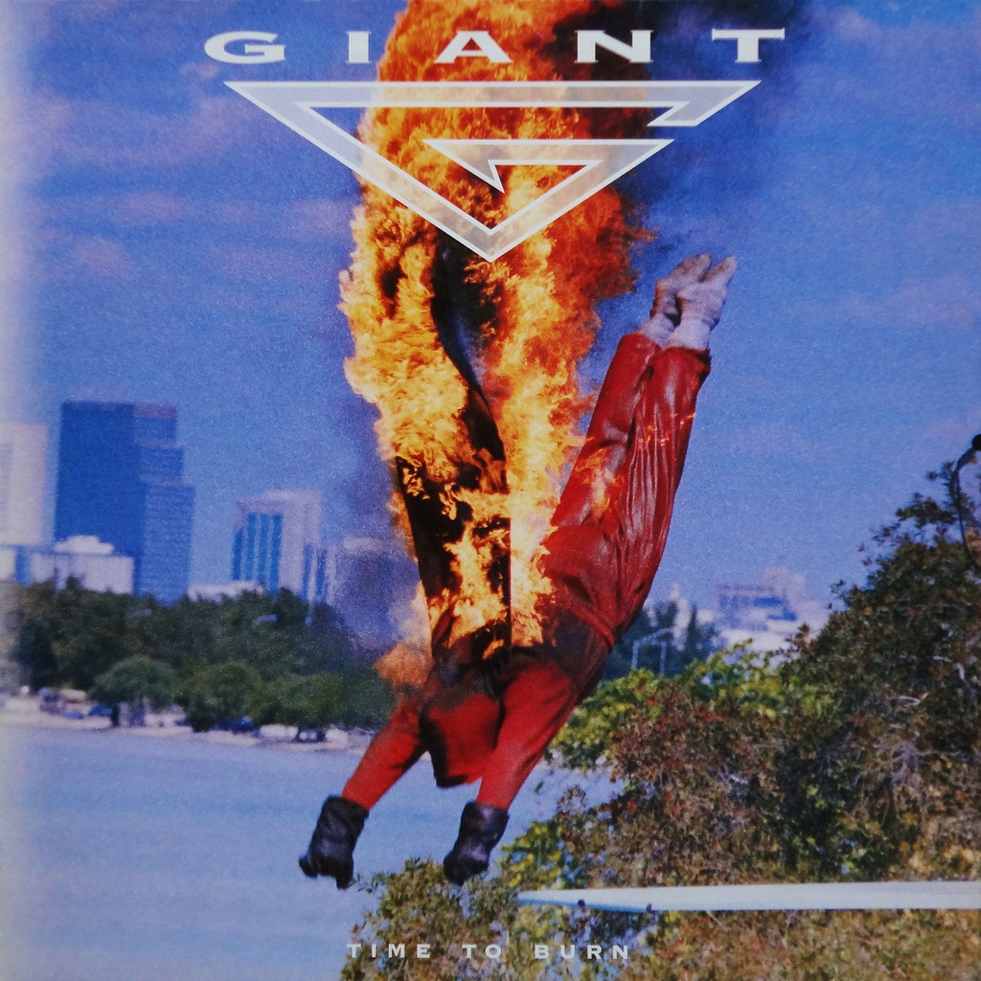 Giant - Time To Burn - CD
