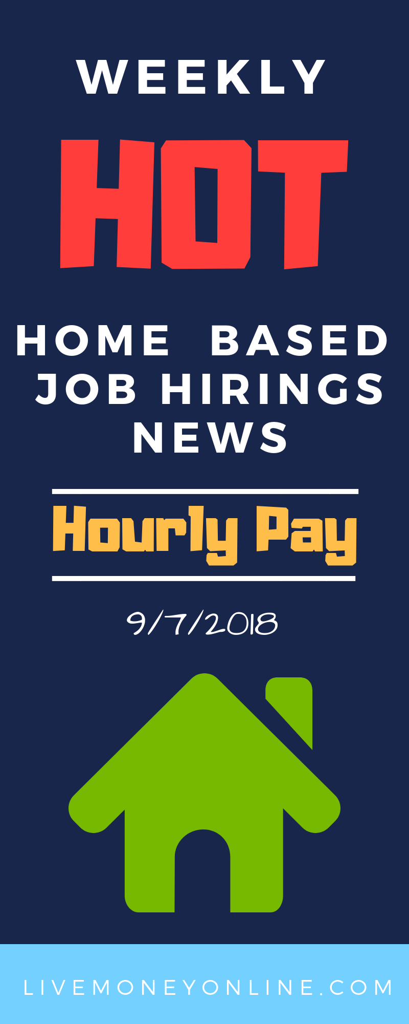 Weekly HOT Remote Job Hirings 9/7/2018 Remote jobs, Jobs