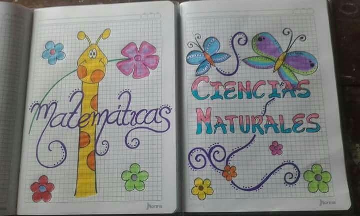 Dibujos Para Portadas De Cuaderno: Carátulas.Web Cuaderno